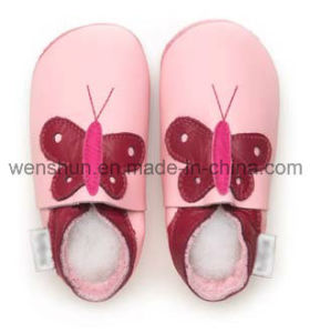 Soft Leather Baby Shoes 05-T1000 pictures & photos