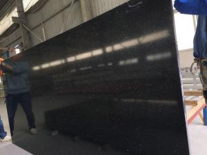 Black Galaxy Man Made Stone, 20mm Artificial White Quartz, Engineered Stone Slate