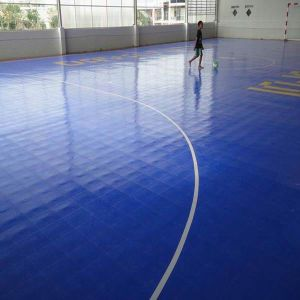 Soccer / Futsal Court Interlock Sports PP and PVC Floor pictures & photos