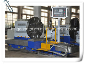 China High Quality Horizontal CNC Lathe for Turning Diesel Engineer Wheel (CK61160) pictures & photos