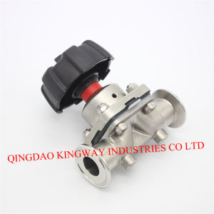 Sanitary Clamped Diaphragm Valve pictures & photos