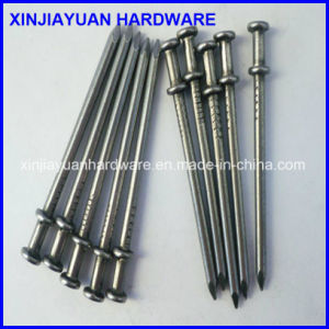 Prime Quality Polished Bright Duplex Nail / Double Head Nail 8d pictures & photos