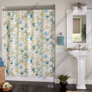 Spring Butterfly Shower Curtain pictures & photos