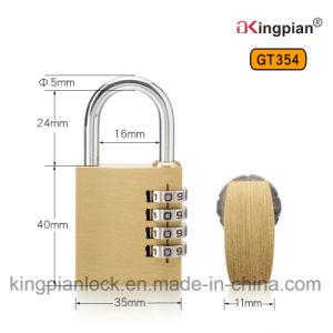 4 Digit Brass Combination Padlock and Code Padlock pictures & photos