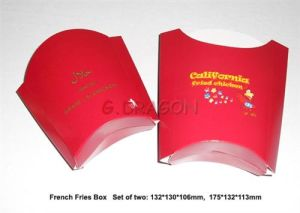 French Fry Scoop Cardboard Box (GD-FFB004) pictures & photos
