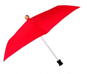 19′i* 6k with Doll Five Folding Pocket Umbrella