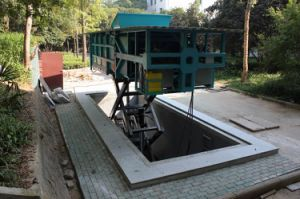 Underground Elevating Garbage Compression Station (LSY-6) 6m3 pictures & photos