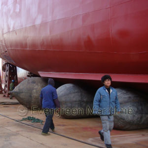 Buoyancy Salvage Marine Airbag for Vessel/Barge/Ship Launching and Dry Docking, Marine Balloon Pull to Shore Heavy Lift in Shipyards pictures & photos