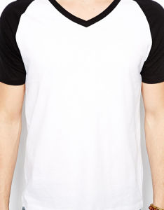 Custom Mens Blank Plain Baseball Tee Shirts pictures & photos