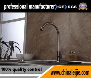 Luxury High Quality Stainless Steel Single Lever Basin Faucet pictures & photos