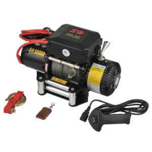 Auto Recovery Winches 12V 24V 9500lb Toughest Gears CE Apprived