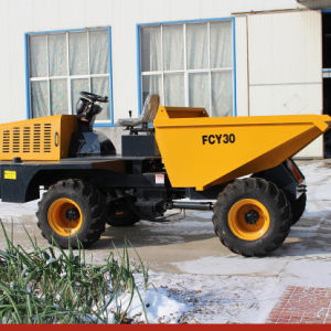 4WD China 3ton off Road Site Dumper Truck Fcy30 pictures & photos