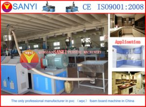 PVC Kitchen Cabinet Board Extrusion Line/Plastic Machine pictures & photos