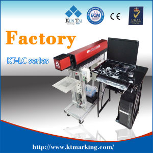40W CO2 Laser Engraving Marking Coding Machine for Tire pictures & photos