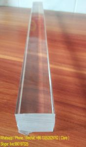 Clear PMMA Acrylic Square Rod pictures & photos