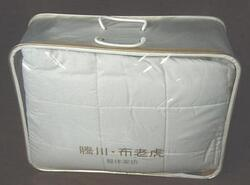 Premium Clear PVC Bedding Quilt Plastic Bag with Handle (FLP-9402) pictures & photos