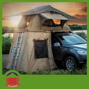 4X4 Land Rover Travelling Roof Top Tent with Back Skirt pictures & photos