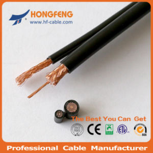 Sell Good Quality with Reasonable Pirce RG59 2DC Power Cables pictures & photos