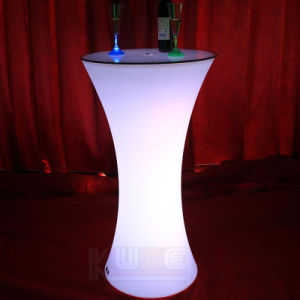 Illuminated Outdoor Bar Stool and Table pictures & photos