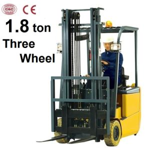 1.8 Ton Battery Operated Forklift with Three Wheel (CPD18S) pictures & photos