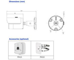 Dahua 3MP IR Mini-Bullet Wi-Fi Network Camera (IPC-HFW1320S-W) pictures & photos