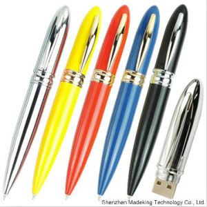 Custom Pen Shape USB Flash Drives, Metal USB Drives pictures & photos
