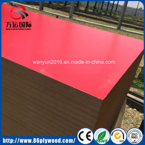 White Laminated Melamine MDF pictures & photos