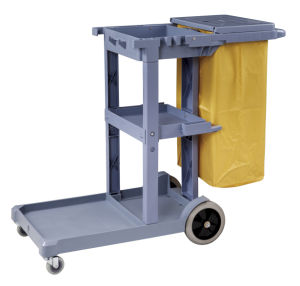 Janitorial Cart (With Top Cover)