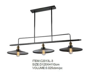New Design with CE & UL Home Pendant Light (C2013L-3) pictures & photos