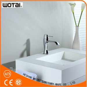 Wotai Chrom Finished Single Lever Basin Mixer pictures & photos