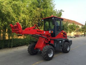 Hydraulic Joystick Wl100 Wheel Loader as Farm Equipment in Sweden pictures & photos