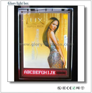 Crystal Light Box with Running LED Display (SJ039) pictures & photos