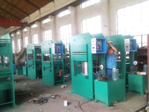 High Capacity Type Rubber Sole Manufacturing Machine\Plate Vulcanizing machine pictures & photos