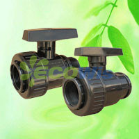 High Quality Farm PVC Single Union Ball Valve pictures & photos