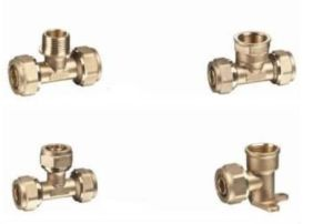 Brass Fittings for 90 Degree Elbow pictures & photos