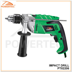 Powertec 1050W 13mm China Electric Impact Drill (PT82206) pictures & photos