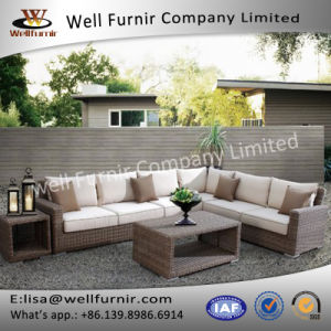 Well Furnir Rattan Sectional Sofa pictures & photos