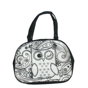 Fashion Handbag with Markers, Doodle Messenger Bag (SF-2028)