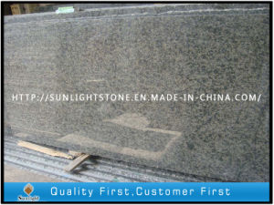 Polished China Green Granite Slabs for Flooring/Countertops/Vanity Tops pictures & photos