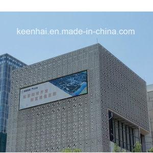 Perforated aluminium sheet metal modern building facade panel pictures - China Modern Aluminium Sheet Metal Perforated Facade Panel