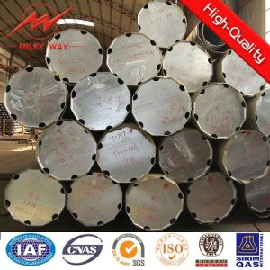 Hot DIP Galvanized Round Steel Pole Price pictures & photos