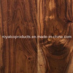 Prefnished Acacia Hardwood Parquet Flooring Tile for Building Material on Big Sale