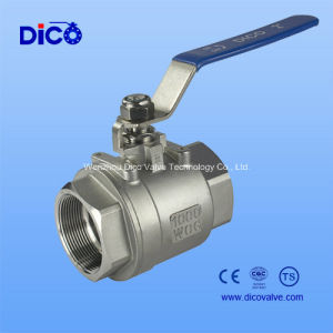 2PC Stainless Steel Ball Valve with Ce Certificate (Q11F-64P) pictures & photos