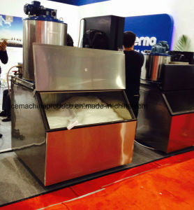 1t Flake Ice Machine with PLC Control System pictures & photos