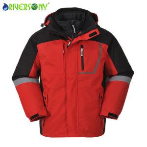 Polyester/Fleece 3 in 1 Mountain Coat Ski Wear pictures & photos