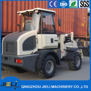 Smallest Turning Radius Rops Fops Mini Wheel Loader with Ce (ZL15) pictures & photos