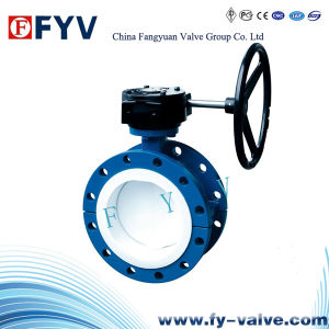 API Flanged Center Line Butterfly Valve pictures & photos