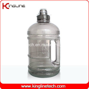 PETG half gallon water bottle BPA free with handle,with sport cap (KL-8003B) pictures & photos
