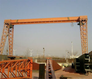10 Ton Single Girder Gantry Crane (MH) pictures & photos