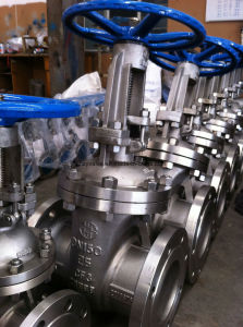 "API600 2"" Class150 CF8 Stainless Steel Gate Valve pictures & photos"